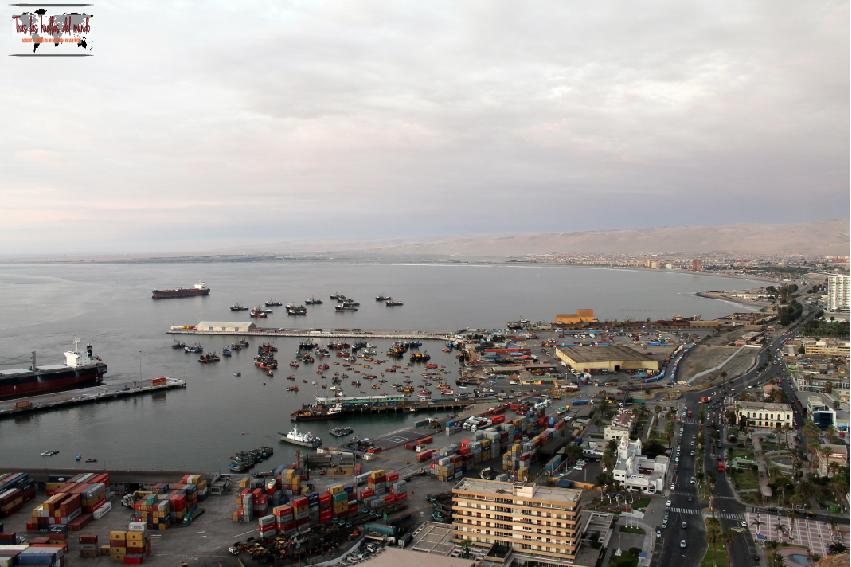 DP puerto Arica